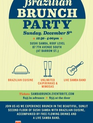 Brazilian Brunch Party. 12/8/13